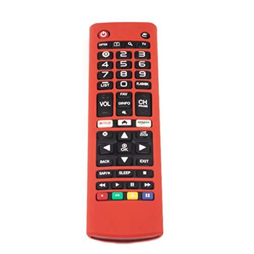 RipengPI Funda de Control Remoto, Funda de Control Remoto a Prueba de Golpes, Funda Protectora de Silicona, para L-G AKB74915305 AKB75095307 AKB75375604 Control Remoto de TV