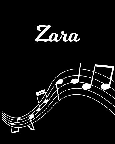 Zara: Sheet Music Note Manuscript Notebook Paper – Personalized Custom First Name Initial Z – Musician Composer Instrument Composition Book – 12 … Guide – Create Compose & Write Creative Songs
