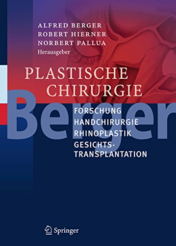 Plastische Chirurgie: Forschung, Handchirurgie, Rhinoplastik, Gesichtstransplantation (German Edition)