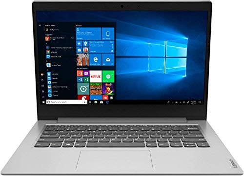 "Lenovo IdeaPad 1 14"" Laptop Computer for Business Student, AMD A6-9220e up to 2.4GHz, 4GB DDR4 RAM, 64GB eMMC, 802.11AC WiFi, Bluetooth 4.2, Webcam, Grey, Windows 10 S Mode, BROAGE 32GB Flash Drive"
