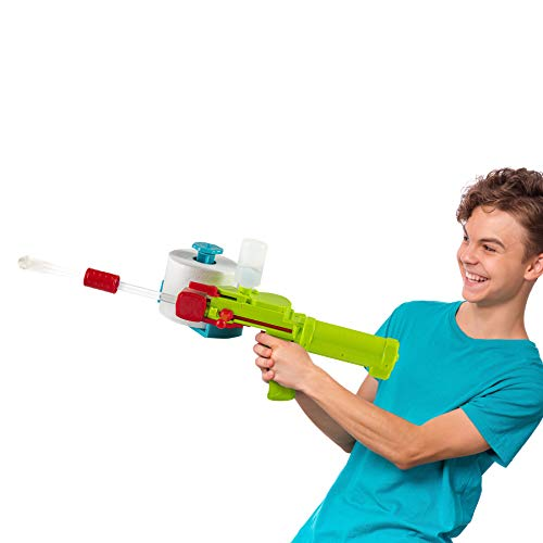 Play22 Toilet Paper Gun Launcher - Uses Real Toilet Paper Roll, Toilet Paper Shooter Shoots 30 Feet - Gun for...