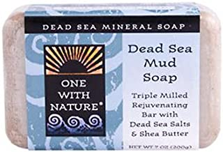 One With Nature Dead Sea Mud Bar Soap, 7 Ounce -- 2 per case.