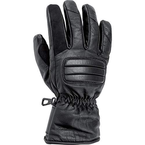 Akuma Motorradhandschuhe lang Motorrad Handschuh Touren Lederhandschuh 1.0 schwarz XXL, Unisex, Tourer, Sommer