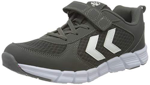 hummel Unisex-Kinder Speed JR Sneaker, Asphalt,35 EU