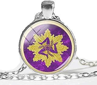 sicilian trinacria pendant