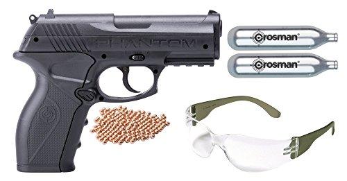 Crosman P10 Kit CO2 Powered Semi Auto BB Air Pistol, Multi, One Size