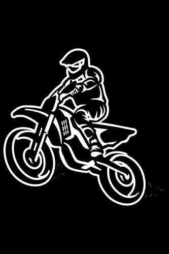 Supermoto Supermotard Enduro Schwarz Weiß: DIN A5 Kariert 120 Seiten / 60 Blätter Notizbuch Notizheft Notiz-Block Moto-Cross Motorrad Motive & Geschenke