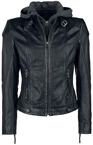 Gipsy Cacey Frauen Lederjacke schwarz 4XL 100% Leder Basics, Biker, Casual Wear