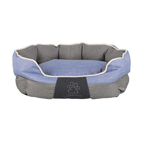 TRIXIE Lit Joris - 60x50cm - Gris et bleu - Pour chien