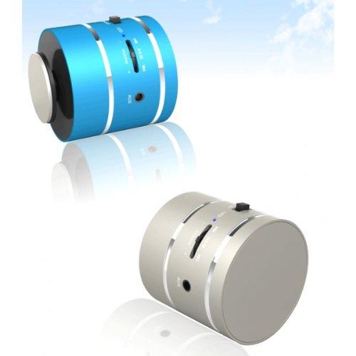 Vibration 360 Omni - Altavoz vibratorio direccional (3,5 mm, con batería recargable por USB, ranura microSD y mando a distancia), color negro