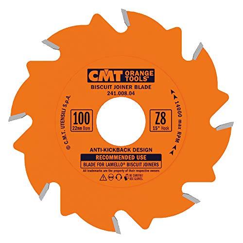 CMT 241.008.04galletas Junta cuchilla, (diámetro x 8dientes, ptfe-coated.