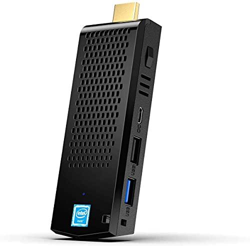 Mini PC, 8GB DDR3 / 128GB eMMC Intel Atom Z8350 Windows 10 Pro 64bit Mini Computadora Stick, 4K HD/Bluetooth 4.2/Dual Band WiFi/USB 3.0