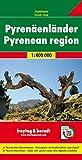 Los Pirineos, mapa de carreteras. Escala 1:400.000. Freytag & Berndt.: Wegenkaart 1:400 000: AK 0520 (Auto karte)