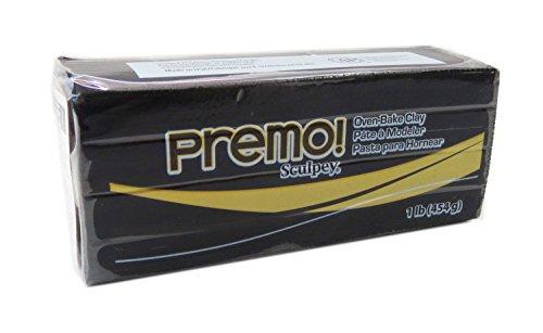Sculpey Premo Polymer Clay 1Lb-Black