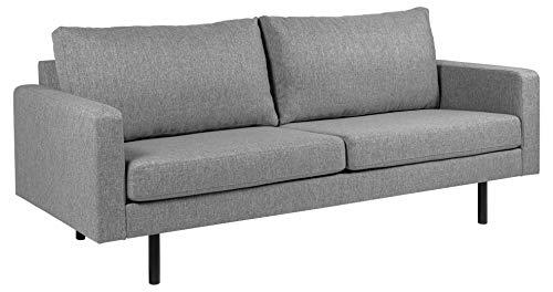 Amazon Brand - Movian Ticino - Divano a 2 posti e mezzo, 88 x 210 x 88 cm (Lu x La x A), grigio