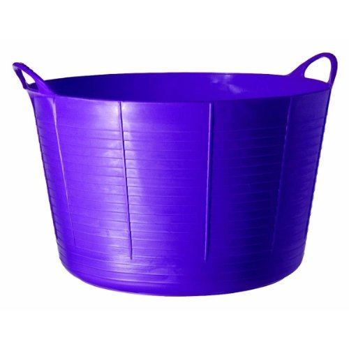 Decco Ltd Cubo Flexible Multiusos, Morado, 57x57x37 cm