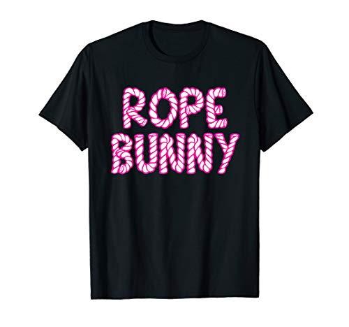 Rope Bunny Shirt: Shibari Kinbaku Bondage Kinky Fetish BDSM T-Shirt