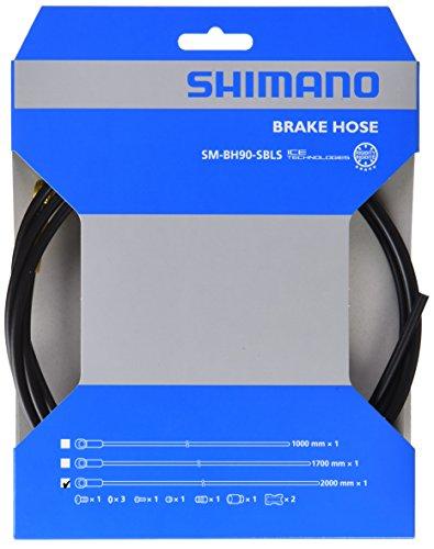 SHIMANO FD BH90 Saint M820 2 M Latiguillo, Negro, 2M