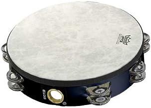 """Remo TA-5210-70 Fiberskyn Tambourine - Quadura Black, 10"""""""