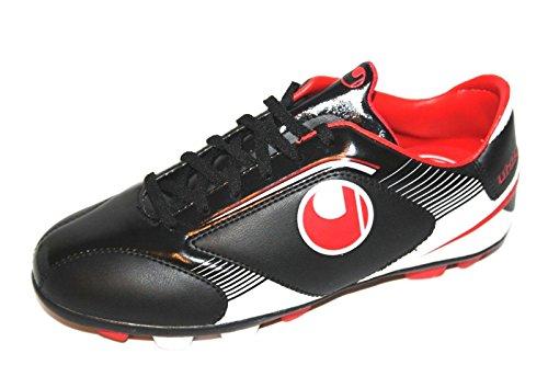 Uhlsport Chaussures de sport kikk Perfomance Jr. XGR en Kick Chaussures Perfomance Jr. XGR Black/White/Red dans kikk Chaussures Perfomance Jr. XGR Black/White/Red - - Kikkschuh Perfomance Jr. Xgr Black/White/Red,