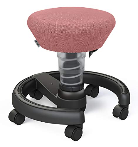 aeris Swoppster New Edition ergonomischer Schreibtischhocker für Kinder – Drehstuhl für dynamisches Sitzen und einen gesunden Rücken – 32-47,5 cm Sitzhöhe (stufenlos höhenverstellbar)