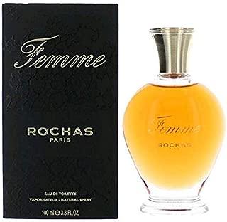 Röchàs Fémme Perfume for Women 3.3 fl.Oz/100ml Eau De Toilette Spray