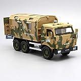 fangzhuo Vehículo de construcción Modelo Militar De Aleación, Camiones Militares De Simulación A Escala 1:32, Coches De Juguete con Tracción Trasera De Aleación