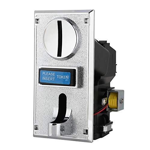 Socobeta Aceptador de Monedas Salida de señal de Velocidad de Pulso de 3 Pasos Multifunción Inteligente para máquina expendedora dispensadora de Agua