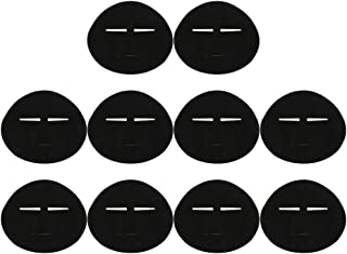 Lurrose 10 Stuks Wegwerp Huidverzorging Maskers Pre- Cut Facial Papier Grafeen Gezichtsmaskers Diy Make- Up Beauty Tool