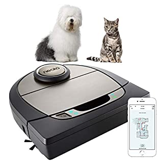 Neato Robotics D750, Cleaner Premium Pack, Corner Cleaning Robot Vacuum with D-Shape + Exclusive Pet Accessories for Carpet and Hard Floors, App/Alexa Compatible, Silver (B07NH43JSX) | Amazon price tracker / tracking, Amazon price history charts, Amazon price watches, Amazon price drop alerts