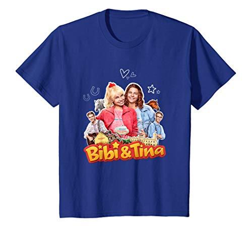 Kinder Shirt Bibi & Tina - ''Collage' T-Shirt