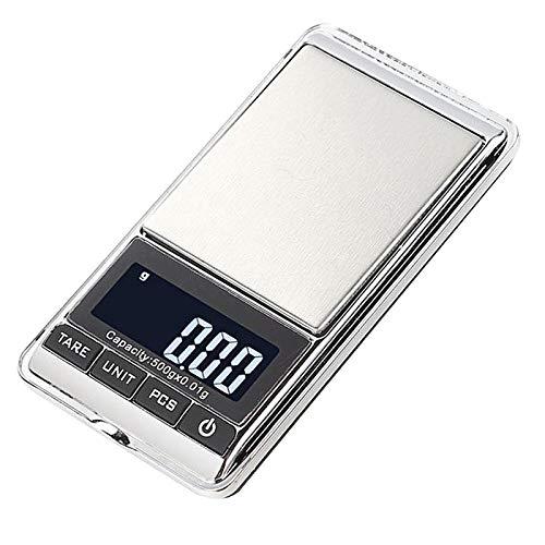 Non-brand Balanza electrónica de Alta precisión Balanza de Joyería Escala de Cocina balanza de Laboratorio - 0,01-200g