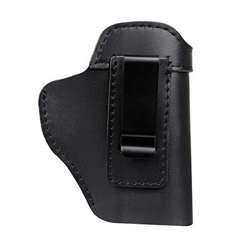 NO LOGO L-Yune, Funda de Cuero Oculta Funda de Pistola for Sig Sauer P226 SP2022 P229 P250 Glock 17 19 43 Beretta 92 Accesorio de Funda (Color : A)
