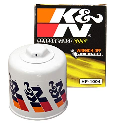 K&N Premium Oil Filter: Designed to Protect your Engine: Fits Select HYUNDAI/KIA/SUBARU/HONDA Vehicle Models (See Product Description for Full List of Compatible Vehicles), HP-1004