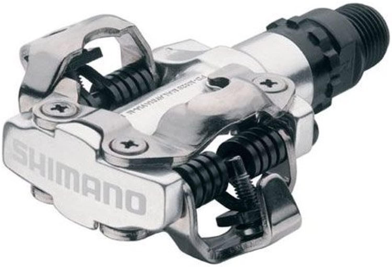 Shimano SPD Pedal E-PDM520L (Color: 銀) clipless pedals