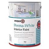 Zinsser ZN7050001A1 Perma-White Interior Water-Based Satin 5 Litre