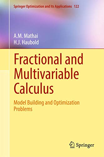 Fractional and Multivariable Calculus: Model Building and Optimization Problems (Springer Optimization and Its Applicati