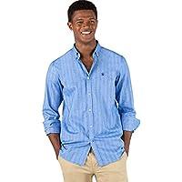 El Ganso Urban Scotland 1 Camisa casual, Azul (Azul 0040), Small para Hombre