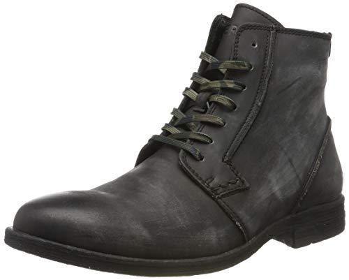 Replay Herren HOTMAN Biker Boots, Grau (Stone 55), 44 EU