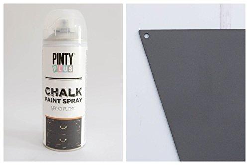 Pintura a la tiza en aerosol, con base al agua, varios colores,400ml , BLACK PLUM, 400 ml
