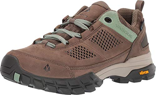 Vasque Women's Talus at UltraDry Waterproof Hiking Shoes, Bungee Cord/Basil, 7.5D (Wide)