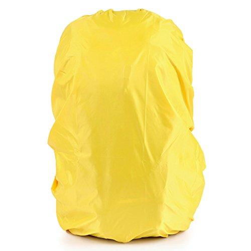 LEDMOMO 45L imperméable sac à dos de pluie (jaune)
