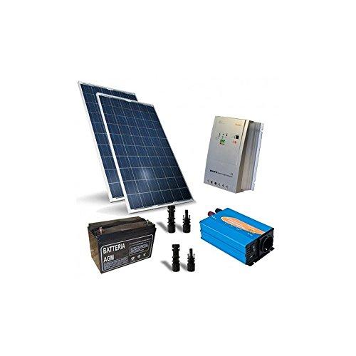 Kit Solar Refugio Base 500W 12V,sistema fotovoltaico independiente