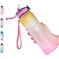 Haixiang 32oz Leak-proof BPA Free Drinking Water Bottle