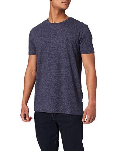Springfield Camiseta Manga Corta, Azul Medio, M para Hombre