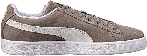 Puma Suede Classic+, Sneaker Unisex-Adulto, Grigio Grau/Beige/Weiß), 43 EU