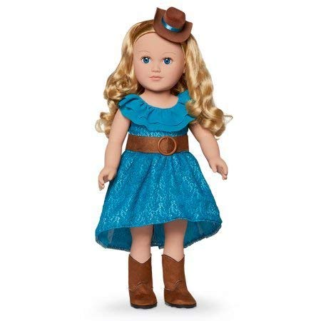 My Life As 18-inch Cowgirl Doll, Blonde