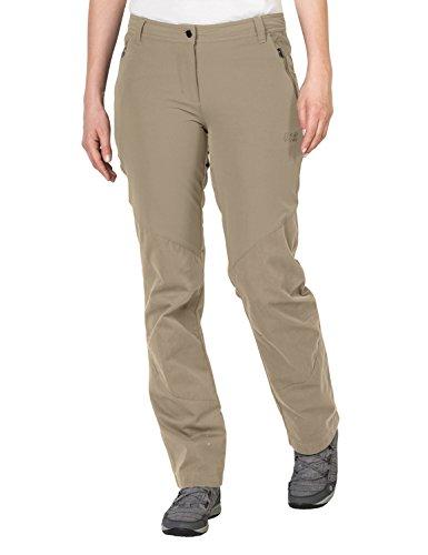 Jack Wolfskin Damen Drake Flex Pants Women Hose, Sand Dune, 21