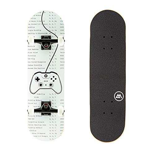 Magneto Kids Skateboard | Maple Deck with Components - Designed for Kids and Teens (Video Game)