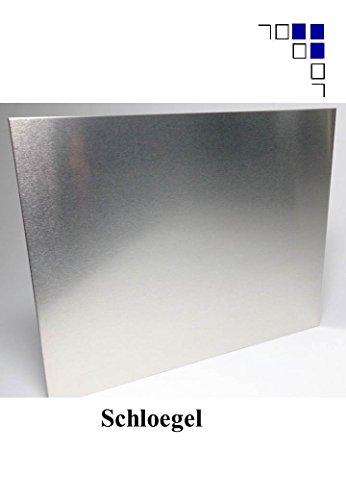 3mm Aluminiumblech Länge 1000/1500mm mit einseitiger Schutzfolie Glattblech … (600x1000mm)